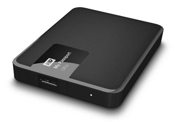 "Western Digital My Passport Ultra 500GB 2,5"" USB3,0, černý"