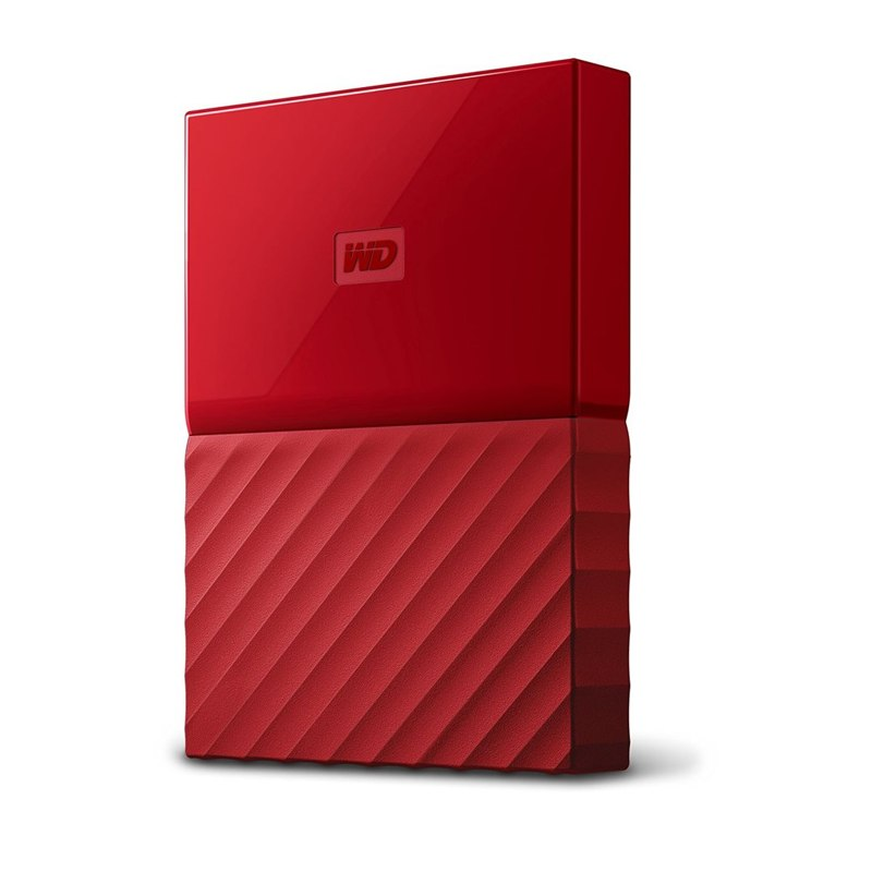 "Western Digital My Passport 2TB 2,5"" USB3.0, červený"
