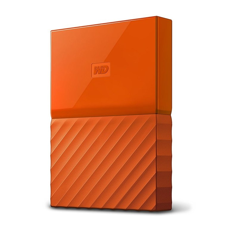 "Western Digital My Passport 2TB 2,5"" USB3.0, oranžový"